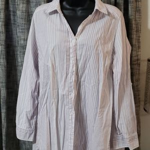 Lane Bryant button down top 18/20